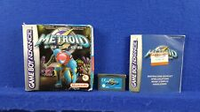 Gameboy Advance METROID FUSION #y BOXED & COMPLETE GBA PAL UK