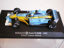 RENAULT F1 TEAM R 202 2002 DE JENSON BUTTON PAR UNIVERSAL HOBBIES  AU 1/43