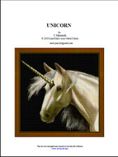 UNICORN - CROSS STITCH CHART