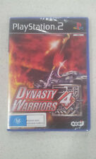 Dynasty Warriors 4 Game PS2 PAL Version New & Sealed