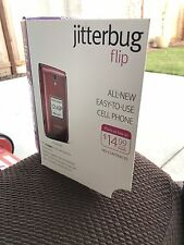 GreatCall Jitterbug Flip Easy-to-Use 4G Prepaid Cell Phone