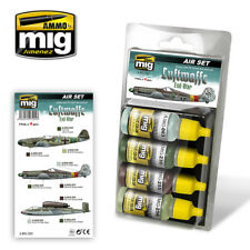 Ammo of MIG A.MIG-7221 Acrylic Paint Set: Luftwaffe WWII End War Colors