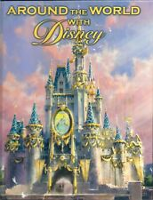 Around the World With Disney - Kevin Markey (2005, Hc) *Near Mint*