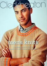 CLECKHEATON MENS KNITS - 2 Designs for Men - Country & Country Naturals 8 Ply