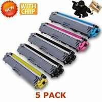 5x TN227 H.Y Toner W/Chip IC for Brother HLL3210CW,HLL3230C MFCL3710CW/L3750CDW