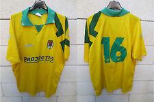 VINTAGE Maillot porté n°16 C.D TORRES NOVAS Portugal match worn jersey shirt XL