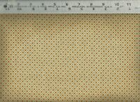Quilting Treasures ~ Stafford Tan Green Check #2  ~ 100% Cotton Quilt Fabric BTY