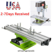 From USA!Milling Machine Work Table Cross Slide Bench Drill Press Vise Fixture A