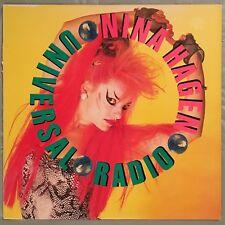 "NINA HAGEN - Universal Radio - 12"" Single (Vinyl LP) Columbia 44-05211"