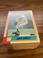 (90) 1990 Topps #535 John Smoltz Atlanta Braves NM-MT+ Lot