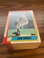 (90) 1990 Topps #535 John Smoltz Atlanta Braves NM-MT+ Lot
