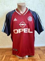 Retro FC BAYERN MUNICH 2002/2003 Home Football Soccer Adidas Jersey Shirt Size M