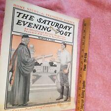 SATURDAY EVENING POST Magazine- MAR 8 1902 - Small Pox Vac -GREAT ADS -FreeSHIP