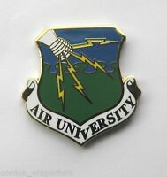 USAF AIR FORCE UNIVERSITY SHIELD LAPEL PIN BADGE 1 INCH