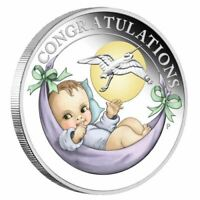 2018 Newborn Baby 1/2oz Silver Proof Coin