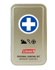 WPC Coleman Personal Survival First Aid Tin Emergency Essentials 7607