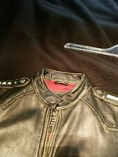 Limited edition Affliction leather jacket size L
