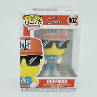 Funko Pop Television The Simpsons DUFFMAN 902 Vinyl Figure - IN HAND