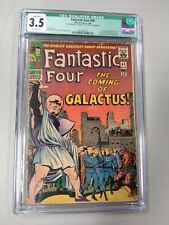 Fantastic Four #48 CGC 3.5 OW pages 1st Appearance of Silver Surfer & Galactus