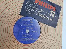 DOLF VAN DER LINDEN and his Metropole orchestra Lover / Laura 78RPM PHILIPPS P01