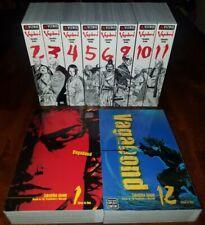 Vagabond Vizbig 10 Volumes 1-6, 9-12English Manga Lot - Takehiko Inoue