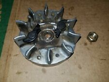 McCulloch Mini Mac 6 Chainsaw Oem Flywheel with nut used chainsaw part
