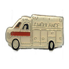 Wholesale Lot of 12 Ambulance Red White Truck Hat Pins Fast Usa Shipping