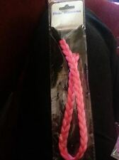 Blue Banana Hair Braid UV Neon Pink Thin Festival/Bright/Music/Band/Hippy/NEW