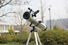 "Visionking 3"" 76-700mm Reflector Telescope Newtonian Astronomy Space Monoculars"
