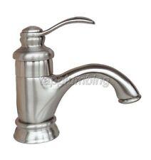 Bathroom Basin Faucet Vessel Sink Mixer Tap Brushed Nickel Finish tbn008