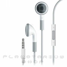 100% NEW GENUINE ORIGINAL APPLE HEADPHONES EARPHONES IPOD IPHONE WITH REMOTE MIC