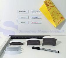 50 Magnetstreifen beschreibbar Kühlschrank Magnet Regale Schilder Magnetfolie