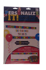 GIANT Graduation Grad Congratulations Party Banner BIG Sign Personalized 5' NEW