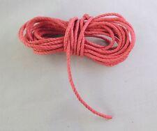 2 m de corde ficelle torsadée ø 2.5 pour poids pendule contre poids horloge