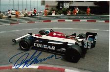 Derek WARWICK mano firmato Formula 1 foto 9x6 1.