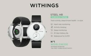 Withings Steel HR Hybrid Smartwatch with Extra Leather Bracelet 36 MM Rose GOLD