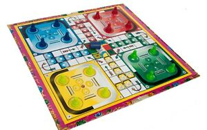 Traditional Classic Modern Full Size Family/Kids Adult Ludo Fun Games Boardgame