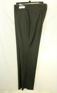 Pronto Uomo Men's Wool Gray Dress Pants Size 48S / 46W