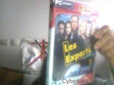 Jeu PC  cd rom Les experts