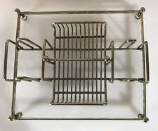 Vintage Lucie Silverplate Caddy Tray Rack Holder