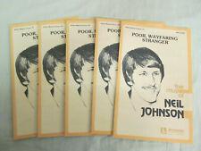 Poor Wayfaring Stranger 3 Pt Mixed Voices by Neil Johnson 446-16020; 1981 Jenson
