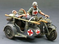 """King & Country WS097 WW II """"Großdeutschland"""" Medic , NEVER OPENED, Mint in Box!"""