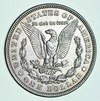 1921-D Morgan Silver Dollar - Last Year Issue 90% $1.00 Bullion Polished - XF/AU