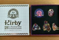 Kirby of the Stars 25th Anniversary Pin Badge Set JAPAN Concert Limited Un-Used