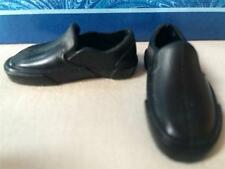 CLOTHES: Modern Ken/Ryan Twilight Doll Black Slip on Loafers Shoes~VANS STYLE