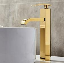 Bathroom Brass Basin Sink Faucet Mixer Single Handle Hot Cold Tap Deck Mounted