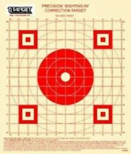 "KWPGS 100 Yd Rifle Sighting-In Target on target paper (red) 1"" Grid (50 Targets)"