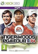 Tiger Woods PGA Tour 14 (Microsoft Xbox 360, 2013) complete