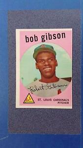 1959 Topps #514 BOB GIBSON RC St Louis Cardinals EXMT o/c ~JN24A