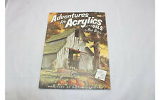 Adventures In Acrylics and Oils Bates Walter Foster Painting Instruction Book